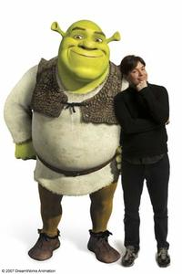Mike Myers voices Shrek in