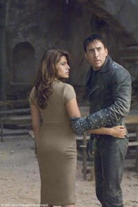 Eva Mendes and Nicolas Cage in