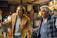 Nicolas Cage and Peter Falk in