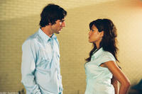 Luke Wilson and Eva Mendez in
