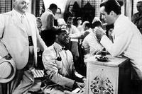 Humphrey Bogart and Dooley Wilson in