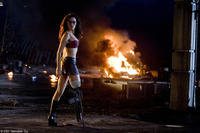 Rose McGowan in Robert Rodriquez's Planet Terror in