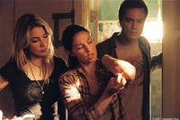 R.C. (Lynn Collins), Agnes White (Ashley Judd) and Peter Evans (Michael Shannon) in