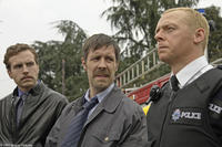 Rafe Spall, Paddy Considine and Simon Pegg Simon Pegg in