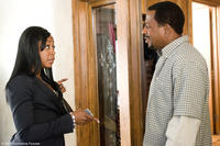 Karen Davis (Tichina Arnold) scolds her unemployed husband Bobby (Martin Lawrence) in