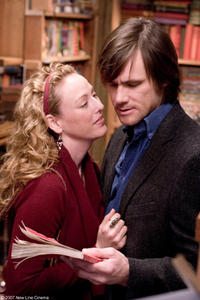 Virginia Madsen and Jim Carrey in