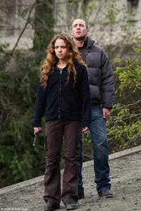 Margarita Levieva and Alex O'Loughlin in