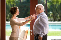 Embeth Davidtz and Anthony Hopkins in