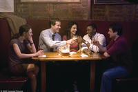Liane Balaban, Ryan Reynolds, Annie Parisse, Derek Luke and Adam Ferrara in