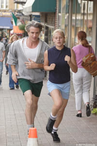 Dermot Mulroney and Carly Schroeder in