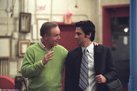 Charles Grodin and Zach Braff in