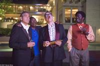 George Clooney, Don Cheadle, Elliott Gould and Bernie Mac in