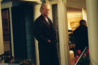 David Morse on the set of