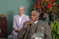 Mr. Ted Hamilton (Bill Cobbs) and Miss Hastings (Lee Meriwether) hope that Jason will understand his grandfather's gift in