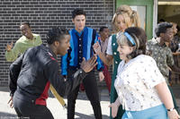 Elijah Kelley, Zac Efron as Link Larkin, Amanda Bynes as Penny Pingleton and Nikki Blonsky in