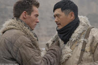 Jonathan Rhys-Meyers and Chow Yun-Fat in