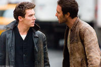 Jonathan Rhys Meyers and Alex O'Loughlin in