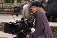 Director Kirsten Sheridan on the set of