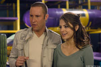 Michael Rosenbaum and Maria Menounos in