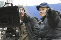 Director of Photography Rodrigo Prieto and Director Ang Lee on the set of