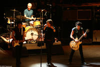 Ronnie Wood, Charlie Watts, Mick Jagger and Keith Richards performing onstage at the Beacon Theater in