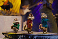Theodore, Alvin and Simon in