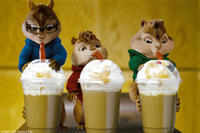 Simon, Alvin and Theodore in