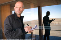 Director Marc Forster on location at the ESO Paranal, Chile.