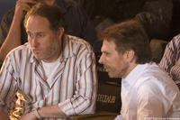 Director Jon Turteltaub and producer Jerry Bruckheimer on the set of