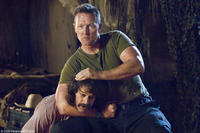 Robert Patrick and Allen Covert in