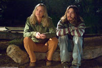 Ashley Scott and Justin Long in
