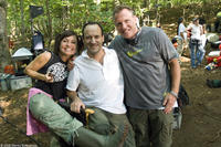 Producer Ann Marie Sanderlin, director Roger Kumble and producer Andrew Gunn on the set of