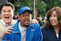 Donny Osmond, Martin Lawrence and Kym Whitley in