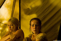 Laura Ramsey and Jena Malone in
