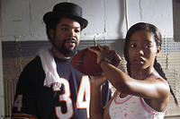 Ice Cube and Keke Palmer in