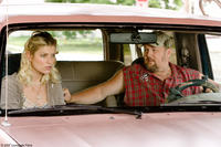 Ivana Milicevic and Larry the Cable Guy in