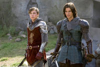 William Moseley and Ben Barnes in