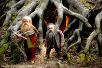 Peter Dinklage and Warwick Davis in
