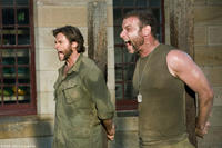 Hugh Jackman as Wolverine and Liev Schreiber as Victor Creed/Sabretooth in