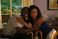 Lance Gross (Michael) and Angela Bassett (Brenda) in