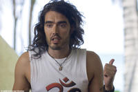 Russell Brand as rocker Aldous Snow in a