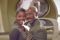 Eddie Murphy as The Captain and Gabrielle Union as #3 in the film