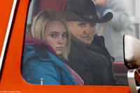 AnnaSophia Robb and Dennis Hopper in