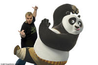 Jack Black voices Po, a clumsy panda unexpectedly chosen to fulfill an ancient prophecy and train in the art of kung fu, in