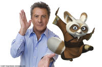 Dustin Hoffman voices Shifu, the renowned trainer of the legendary Furious Five, in