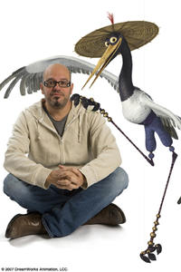 David Cross voices the level-headed Crane, one of the legendary Furious Five, in