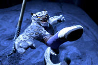 After having spent 20 years in the inescapable Chorh-Gom Prison, Tai Lung (Ian McShane) makes his daring escape in