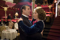 Ciarán Hinds and Frances McDormand in