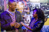 Collins Pennie as Malik and Naturi Naughton as Denise in