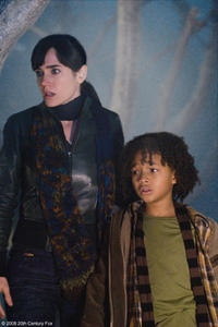 Jennifer Connelly as Dr. Helen Benson and Jaden Smith as Jacob in